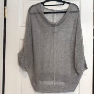 All Saints Sweaters - ALL SAINTS Grey shear sweater L